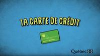 Activité « Ta carte de crédit »