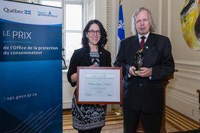 M. Jacques St-Amant, lauréat du Prix de l'Office 2019