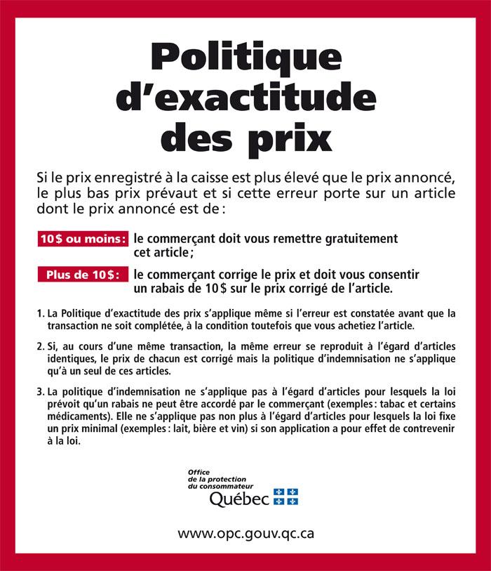 Prix D U E Biere Au Cafe
